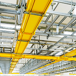 cable trays support systems pipes